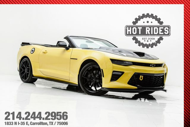 2017 Chevrolet Camaro SS Convertible With Many Upgrades