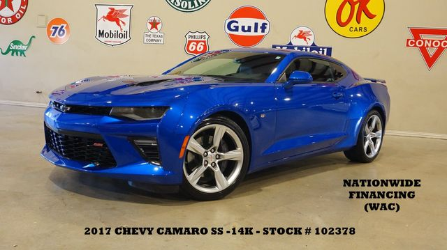 2017 Chevrolet Camaro 2SS Coupe AUTO,HUD,SUNROOF,NAV,HTD/COOL LTH,14K