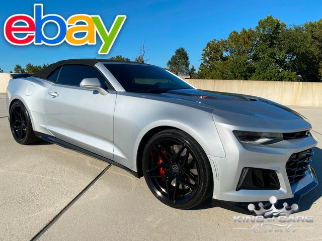 2017 Chevrolet Camaro Convertible ZL1 V8 ONLY 6K MILES MINT WOW