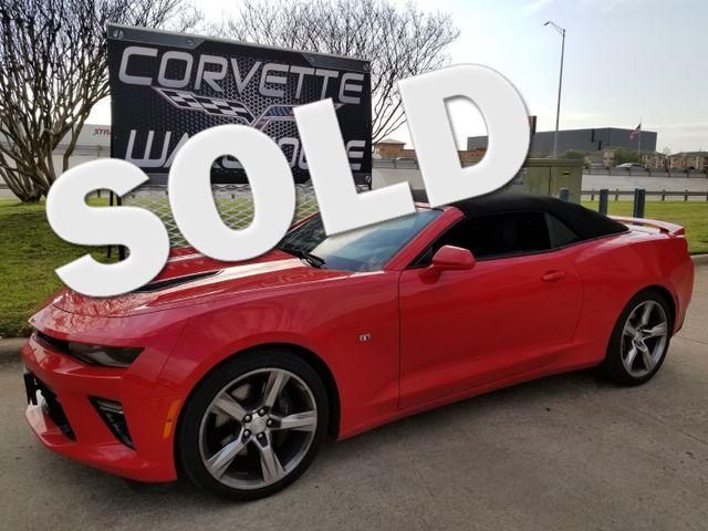 2017 Chevrolet Camaro SS Convertible, CD, Pwr Top, Alloys, Only 48k!   Dallas, Texas   Corvette Warehouse  in Dallas Texas
