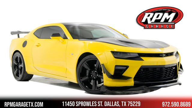 2017 Chevrolet Camaro 1SS with Many Upgrades