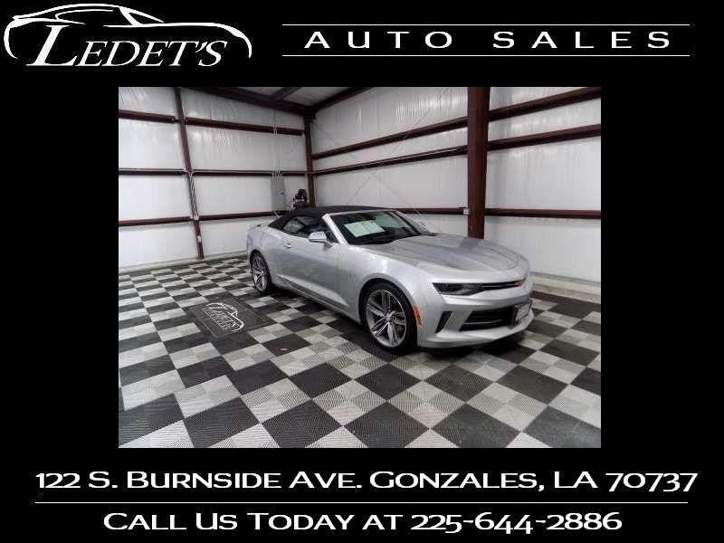 2017 Chevrolet Camaro LT - Ledet's Auto Sales Gonzales_state_zip in Gonzales Louisiana
