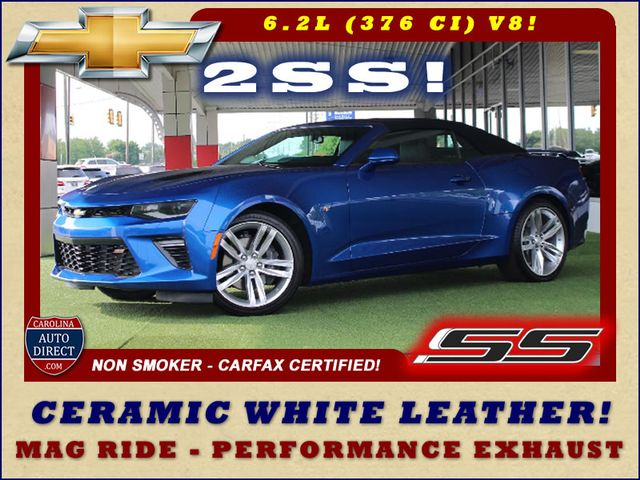 2017 Chevrolet Camaro SS / 2SS - CERAMIC WHITE LEATHER - MAG RIDE! Mooresville , NC 0