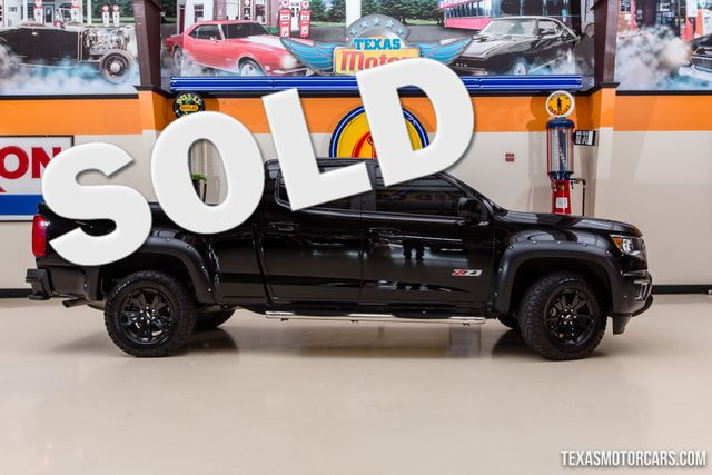 2017 Chevrolet Colorado 4WD Z71 Midnight Edition