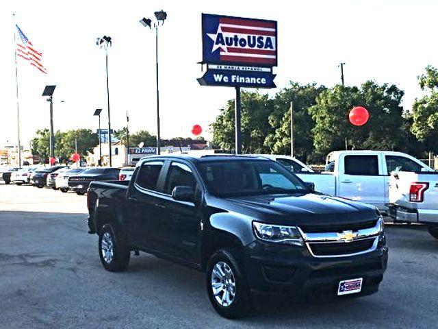 2017 Chevrolet Colorado CrewCab 2WD LT Charcoal   Irving, Texas   Auto USA in Irving Texas