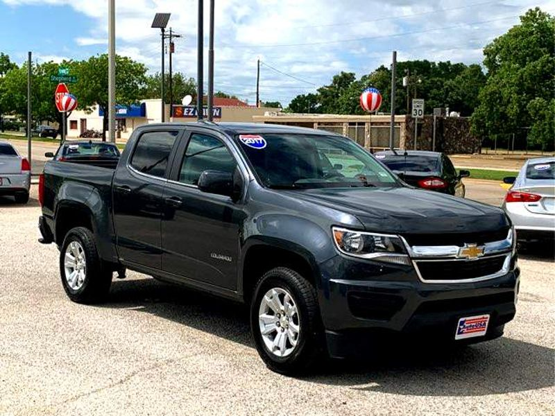 2017 Chevrolet Colorado Crewcab 2wd Lt Charcoal Irving Texas Auto Usa In
