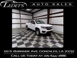 2017 Chevrolet Colorado 2WD WT - Ledet's Auto Sales Gonzales_state_zip in Gonzales