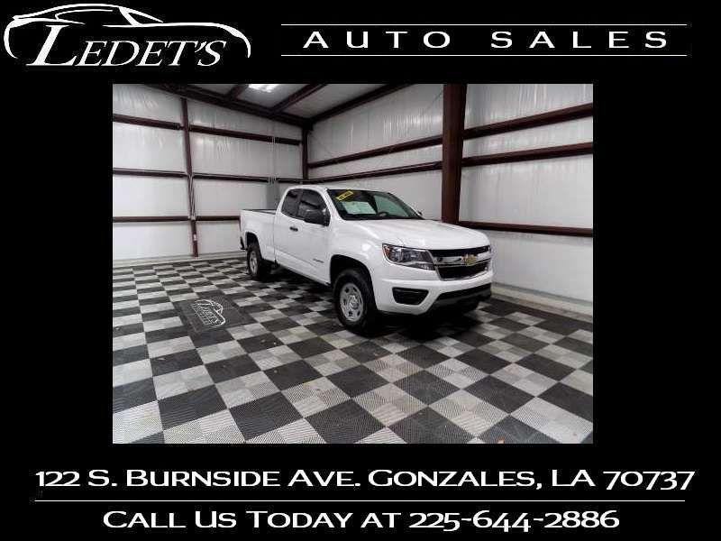 2017 Chevrolet Colorado 2WD WT - Ledet's Auto Sales Gonzales_state_zip in Gonzales Louisiana