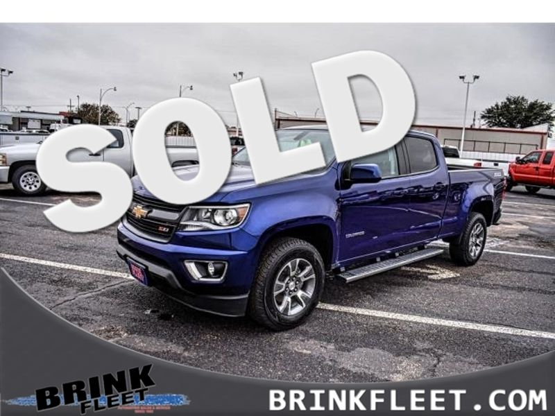 2017 Chevrolet Colorado 4WD Z71 | Lubbock, TX | Brink Fleet in Lubbock TX