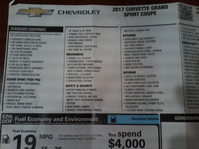 2017 Chevrolet Corvette Grand Sport 2LT Boerne, Texas 22