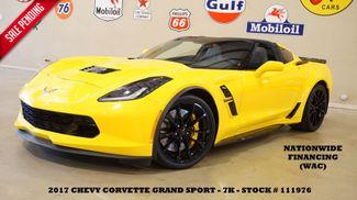 2017 Chevrolet Corvette Grand Sport 1LT Coupe BACK-UP CAM,LTH,EXHAUST,7K in Carrollton TX, 75006
