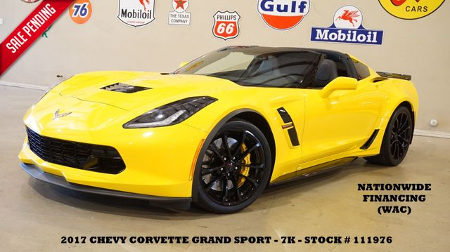 2017 Chevrolet Corvette Grand Sport 1LT Coupe BACK-UP CAM,LTH,EXHAUST,7K