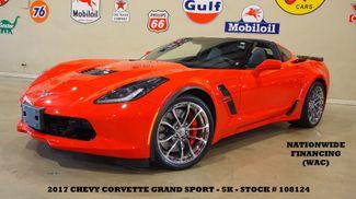 2017 Chevrolet Corvette Grand Sport 3LT AUTO,NAV,F. CAM,CHROME WHLS,5K in Carrollton TX, 75006