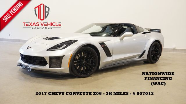 2017 Chevrolet Corvette Z06 1LZ AUTO,MOTOR MODS,HUD,NAV,F&R CAM,3K