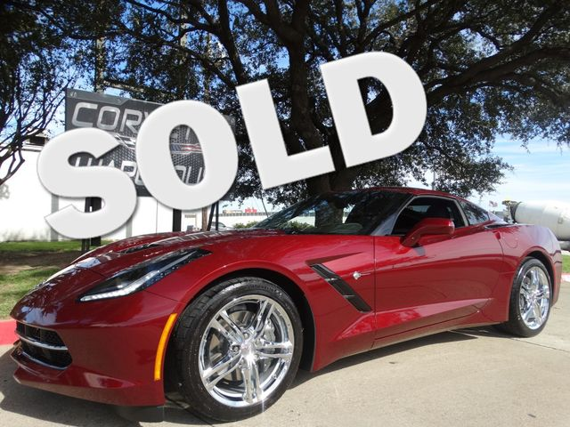 2017 Chevrolet Corvette Coupe Auto, NPP, Chrome Wheels 1-Owner 10k! | Dallas, Texas | Corvette Warehouse  in Dallas Texas