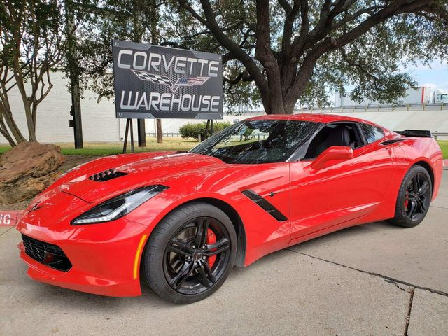 2017 Chevrolet Corvette Coupe Auto, Mylink, Carbon Skirts, Blk Wheels 45k! | Dallas, Texas | Corvette Warehouse  in Dallas Texas