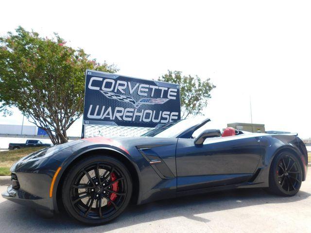2017 Chevrolet Corvette Grand Sport Conv. 2LT, 7-Speed, NAV, Showpiece 8k