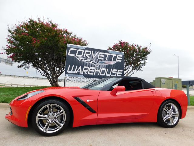 2017 Chevrolet Corvette Convertible 3LT, Auto, NAV, NPP, UQT, Chromes 19k in Dallas, Texas 75220