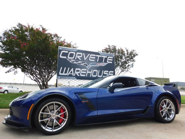 2017 Chevrolet Corvette Grand Sport NAV, NPP, UQT, Chrome Wheels 33k in Dallas, Texas 75220