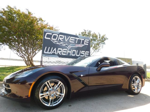 2017 Chevrolet Corvette Coupe Auto, MyLink, 1-Owner, Chrome Wheels, 10k
