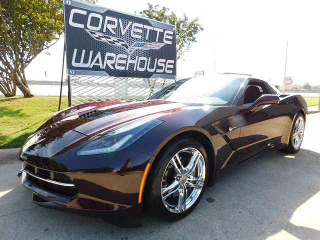 2017 Chevrolet Corvette Coupe Auto, MyLink, 1-Owner, Chrome Wheels, 10k in Dallas, Texas 75220