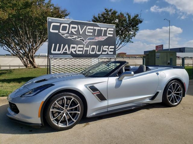 2017 Chevrolet Corvette Grand Sport 2LT, NAV, NPP, Auto, Sterling Blue 12k in Dallas, Texas 75220