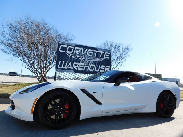2017 Chevrolet Corvette Coupe Z51, 2LT, FE4, NAV, NPP, Black Alloys 38k