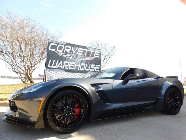 2017 Chevrolet Corvette Z06 2LZ, Z07, NAV, NPP, UQT, Auto, Black Alloys 8k