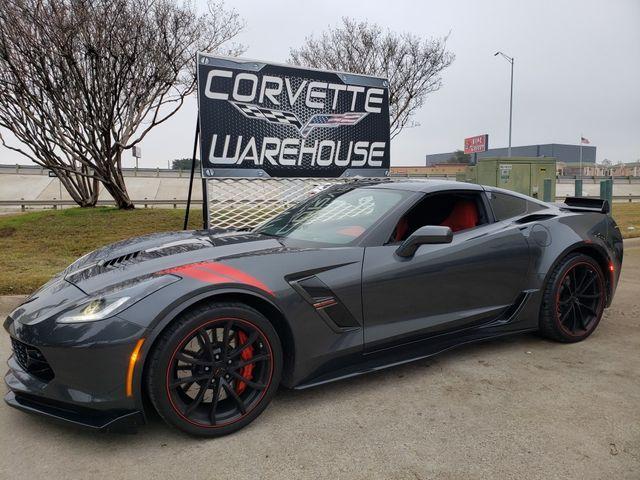 2017 Chevrolet Corvette Grand Sport 3LT, Heritage, NAV, NPP, Blk Alloys 3k