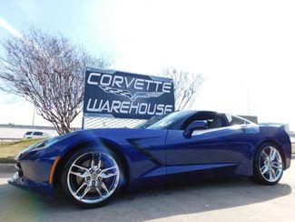 2017 Chevrolet Corvette Coupe Z51, 2LT, Auto, Mylink, NPP, EYT, Chromes 6k in Dallas, Texas 75220
