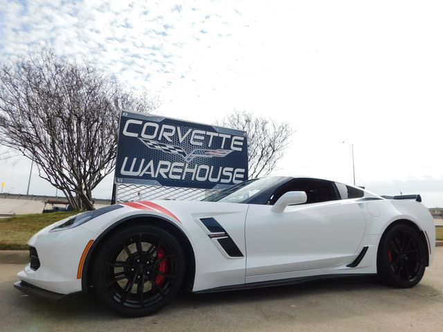 2017 Chevrolet Corvette Grand Sport 3LT, Heritage, NAV, Black Alloys 7k