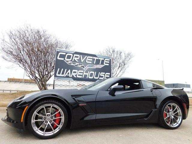 2017 Chevrolet Corvette Grand Sport 2LT, NAV, NPP, HUD, UQT, Chromes 47k