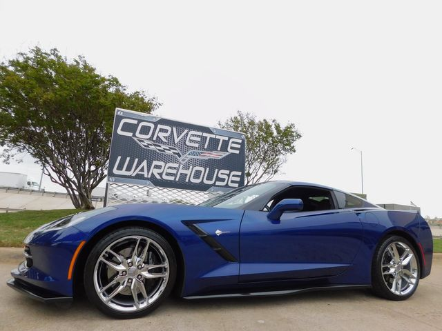2017 Chevrolet Corvette Coupe Z51, 2LT, NPP, Mylink, Chrome Wheels 9k