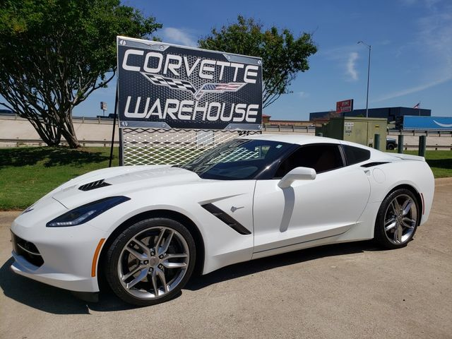 2017 Chevrolet Corvette Coupe Z51, 2LT, NAV, NPP, UQT, Auto, Chromes 18k in Dallas, Texas 75220