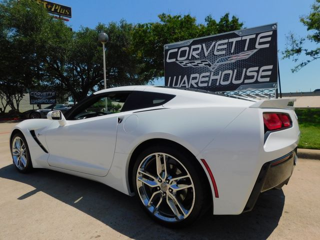2017 Chevrolet Corvette Coupe Z51, 2LT, NAV, NPP, UQT, Auto, Chromes 18k in Dallas, Texas 75220