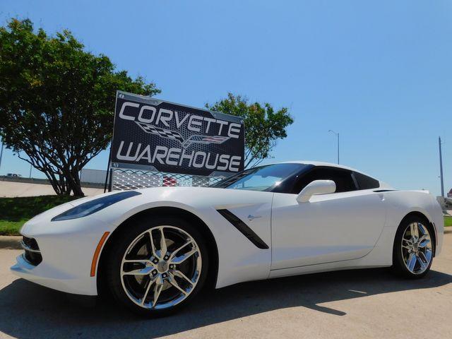 2017 Chevrolet Corvette Coupe Z51, 2LT, NAV, NPP, UQT, Auto, Chromes 18k