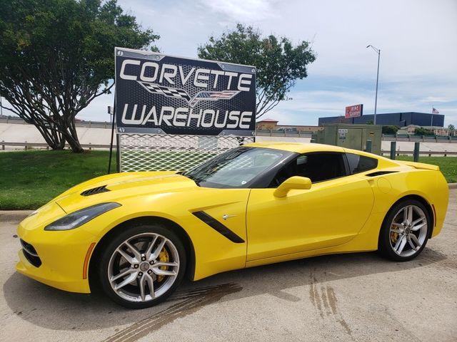 2017 Chevrolet Corvette Coupe Z51, 2LT, NPP, 7-Speed, Mylink, 20k