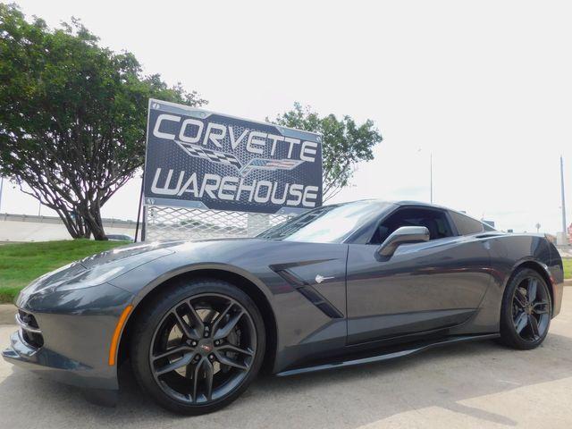 2017 Chevrolet Corvette Coupe Z51, 2LT, FE4, NAV, NPP, PDR, Only 15k