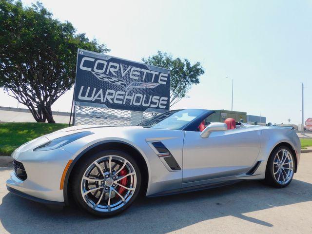 2017 Chevrolet Corvette Grand Sport CONV Premium, Mylink, Chromes, NPP, 1k