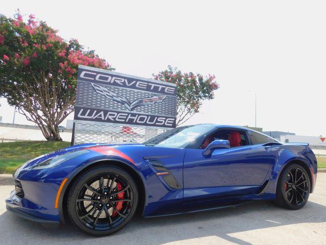 2017 Chevrolet Corvette Grand Sport 2LT, NPP, TT Red, Heritage, MyLink 9k