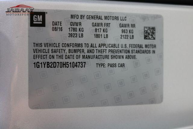 2017 Chevrolet Corvette 1LT Merrillville, Indiana 50