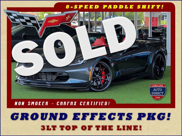 2017 Chevrolet Corvette Grand Sport 3LT - GROUND EFFECTS - ADRENALINE RED! Mooresville , NC