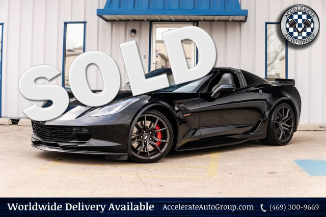 2017 Chevrolet Corvette GRAND SPORT 2LT NAV 7 SPD MAN TRANS CLEAN CARFAX! in Rowlett