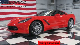 2017 Chevrolet Corvette 1 Owner Low Miles LT Red Chrome Manual Nav CLEAN in Searcy, AR 72143
