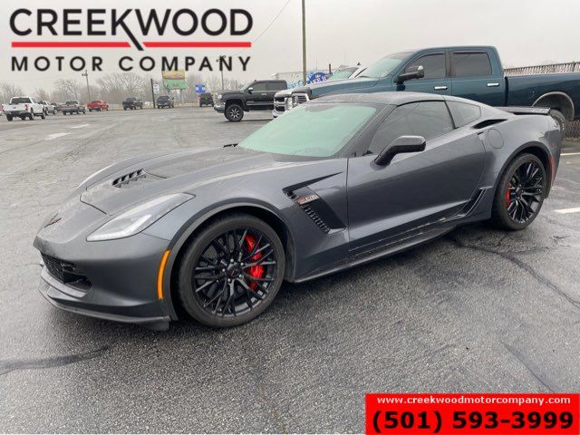 2017 Chevrolet Corvette Z06 2LZ Supercharge 6.2L Auto 1 Owner Leather Gray