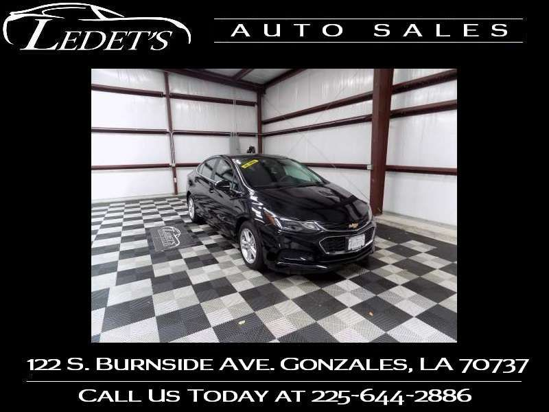 2017 Chevrolet Cruze LT - Ledet's Auto Sales Gonzales_state_zip in Gonzales Louisiana