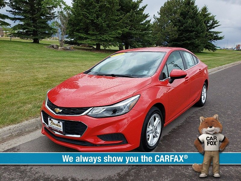 2017 Chevrolet Cruze LT  city MT  Bleskin Motor Company   in Great Falls, MT