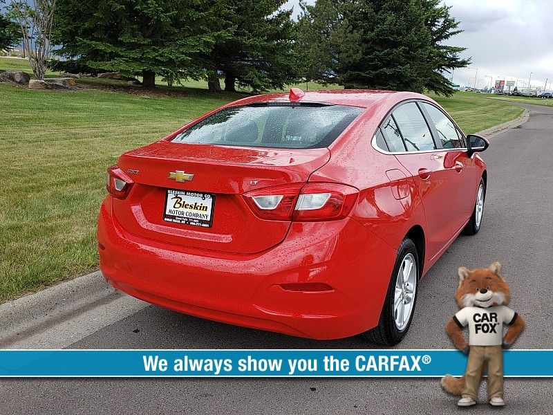 2017 Chevrolet Cruze 4d Sedan LT Auto  city MT  Bleskin Motor Company   in Great Falls, MT