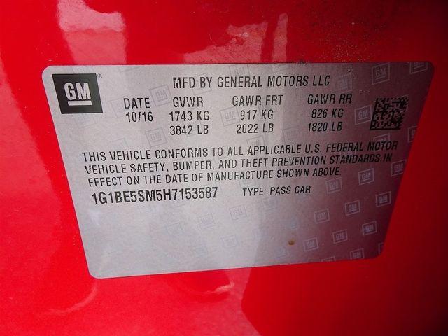 2017 Chevrolet Cruze LT Madison, NC 47