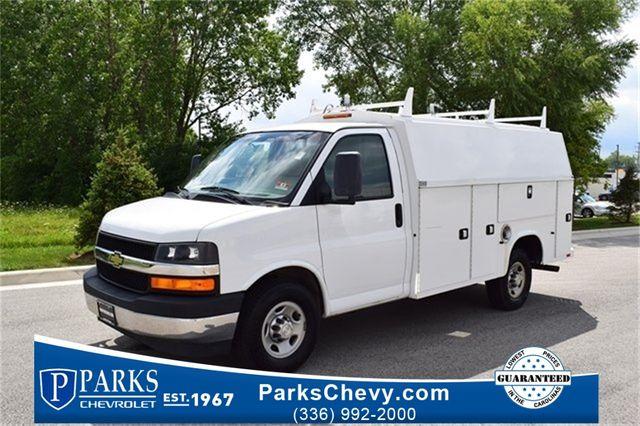 2017 Chevrolet Express Commercial Cutaway Work Van